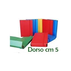 PORTAPROGETTO IN CARTONE CON ELASTICO  D.5