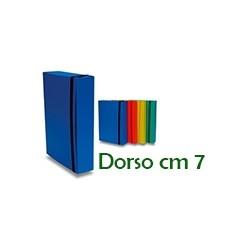 PORTAPROGETTO IN CARTONE CON ELASTICO  D.7
