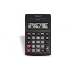 Calcolatrice portatile 8 cifre batteria stilo