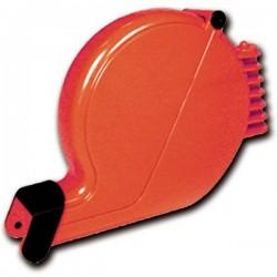 Chiocciola per eliminacode rossa