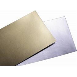 Cartoncino oro e argento 70x100cm