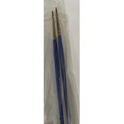 Pennelli punta piatta pelo di bue