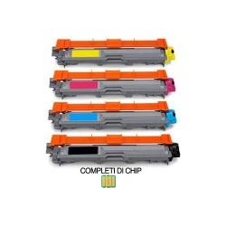 Toner Compatibili con Brother TN-247 (Nero Ciano Magenta Giallo)