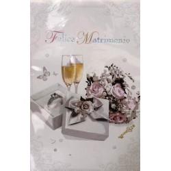 Biglietto Felice Matrimonio