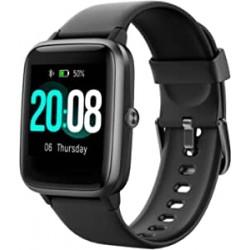 Smartwatch quadrante quadrato nero