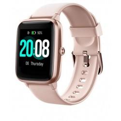Smartwatch quadrante quadrato rosa