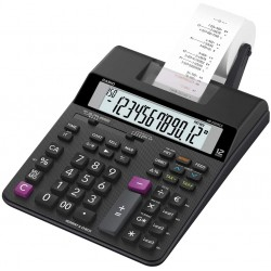 Casio HR-200RCE - Calcolatrice per la stampa Display, LCD a 12 cifre, Nero