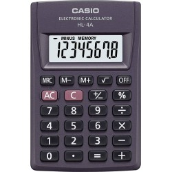Casio HL-4A Calcolatrice tascabile