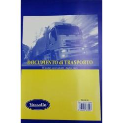 Blocco Documento di Trasporto A5