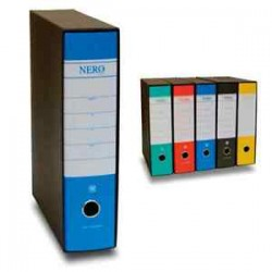 Registratori formato protocollo - dorso 8cm Nero